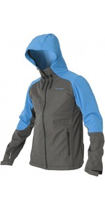 2020 Magic Marine Mens Radar Soft Shell Jacket Grey / Blue 160000