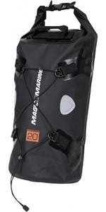2019 Magic Marine Waterproof Duffle Bag 20L Black 120830