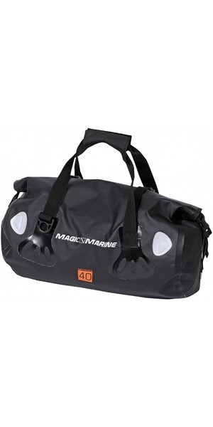 2019 Magic Marine Waterproof Duffle / Sports Bag 40L Black 150290