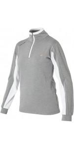 2020 Magic Marine Womens Rigol Sweat Fleece Top Rock Grey 160510
