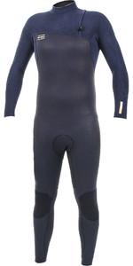 2019 O'Neill HyperFreak Comp 5/4mm Zipperless Wetsuit BLACK / Abyss 5005