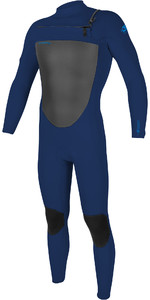 2020 O'Neill Mens Epic 4/3mm Chest Zip Wetsuit 5354 - Navy
