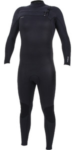 2019 O'Neill Mens HyperFreak+ 4/3mm Chest Zip Wetsuit Black 5344