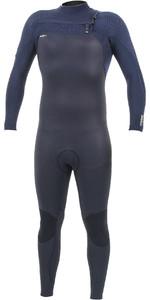 2019 O'Neill Mens HyperFreak+ 5/4mm Chest Zip Wetsuit Black / Abyss 5345