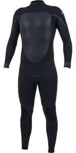 2020 O'Neill Mens Psycho Tech 4/3mm Back Zip Wetsuit 5335 - Black