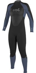 2020 O'Neill Womens Epic 5/4mm Back Zip GBS Wetsuit BLACK / Mist 4218