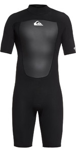 2019 Quiksilver 2mm Prologue Back Zip Shorty Wetsuit Black EQYW503010