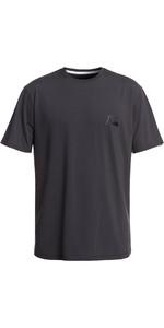 2019 Quiksilver Bubble Logo Short Sleeve T-Shirt Rash Vest Tarmac EQYWR03151