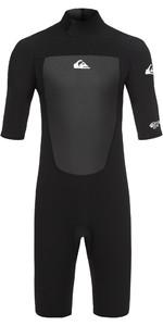 2020 Quiksilver Junior Prologue 2mm Shorty Wetsuit Black EQBW503008