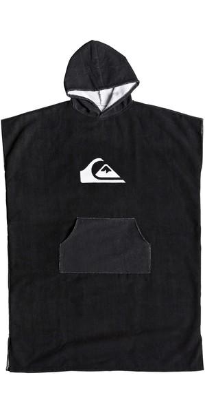 2019 Quiksilver Microfiber Hooded Towel / Change Robe Black EQYAA03741