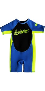 2019 Quiksilver Toddlers Syncro 1.5mm Spring Shorty Wetsuit Blue EQTW503002