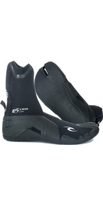2020 Rip Curl E-Bomb 3mm Split Toe Wetsuit Boots Black WBO7EM