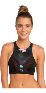 2019 Rip Curl G-Bomb Womens Hi Neck 1mm Neoprene Top Coral WVE7JW