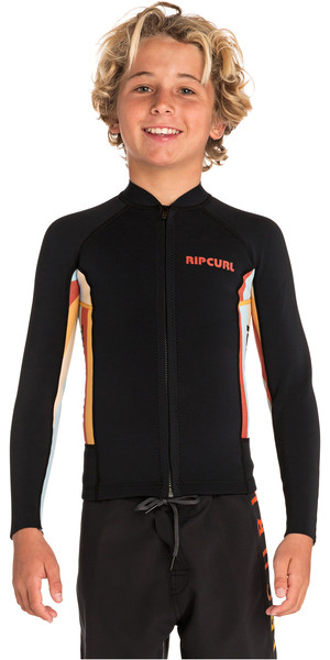 2019 Rip Curl Junior Aggrolite 1.5mm Long Sleeve Neoprene Jacket Red WVE8CJ
