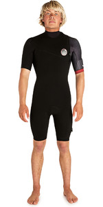 2019 Rip Curl Mens E-Bomb 2mm Zip Free Shorty Wetsuit Black WSP8GS