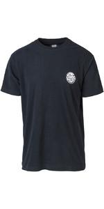 2019 Rip Curl Mens Original Surfer Wetty T-Shirt Black CTECZ5