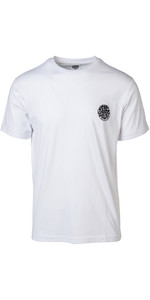 2019 Rip Curl Mens Original Surfer Wetty T-Shirt White CTECZ5