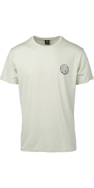 2019 Rip Curl Mens Rider T-Shirt Pale Green CTEIK5