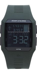 2020 Rip Curl Rifles Tide Surf Watch in Military Green A1119