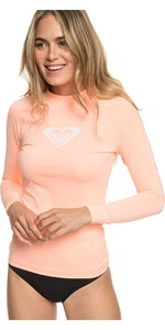 2019 Roxy Womens Wholehearted Long Sleeve Rash Vest Souffle ERJWR03221