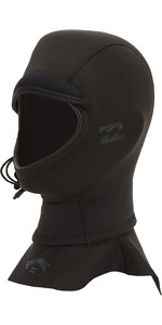 2021 Billabong Furnace 2mm GBS Neoprene Hood U4HD11 - Black