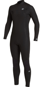 2021 Billabong Mens Absolute 3/2mm Chest Zip GBS Wetsuit U43M56 - Black