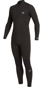 2021 Billabong Mens Absolute 4/3mm Back Zip GBS Wetsuit U44M59 - Black