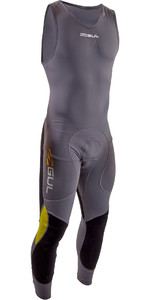 2020 GUL Code Zero 1mm Long John Wetsuit  CZ4309-B7 - Grey