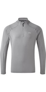 2020 Gill Mens Heybrook Zip Top 1106 - Steel Grey