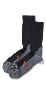 2021 Gill Midweight Socks 763 - Black