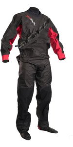 2020 Gul Mens Dartmouth Eclip Zip Drysuit GM0378-B5 - Black / Red