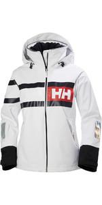 2020 Helly Hansen Womens Salt Power Sailing Jacket 36279 - White
