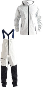 2020 Henri Lloyd Mens M-Course 2.5 Layer Inshore Sailing Package Deal - White