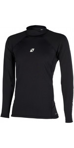 2020 Magic Marine Mens Bipoly Long Sleeve Top Hydrophobic 180015 - Black