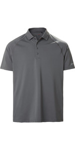 2020 Musto Mens Evolution Sunblock Short Sleeve Polo Shirt 2.0 81148 - Charcoal