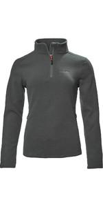 2021 Musto Womens Corsica 100GM 1/2 Zip Fleece 82062 - Dark grey