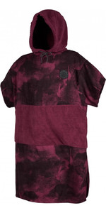 2020 Mystic Mens Allover Poncho / Change Robe 200130 - Oxblood Red