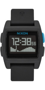 2020 Nixon Base Tide Watch A1104 - Black / Blue