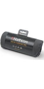 2020 Northcore Quickdry Microfiber Towel NOCO125 - Grey