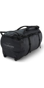2020 Northcore Wheeled Duffel Bag 110L NOCO123D - Black / Grey