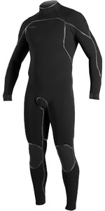2021 O'Neill Mens Psycho One 4/3mm Back Zip Wetsuit 5419 - Black
