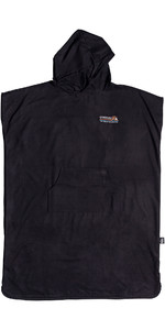 2020 Quiksilver Mini-Pack Hooded Towel / Change Robe EQYAA03914 - Black
