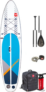2020 Red Paddle Co 11'0 Compact Inflatable SUP Package - Board, Bag, Pump, Paddle & Leash
