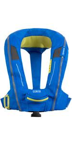 2021 Spinlock Junior Deckvest Cento 100N Auto Lifejacket DWCEN - Blue