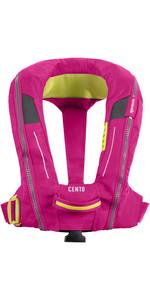 2021 Spinlock Junior Deckvest Cento 100N Auto Lifejacket DWCEN - Pink