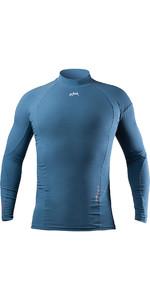 2021 Zhik Mens XWR Pro Water Repellent Rash Vest DTP0093 Deep Blue