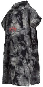 2020 Billabong Changing Robe / Poncho U4BR10 - Black Tie Dye