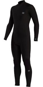 2021 Billabong Mens Absolute 3/2mm Back Zip Wetsuit W43M55 - Black