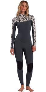 2021 Billabong Womens Salty Dayz 4/3mm Chest Zip Wetsuit W44G50 - Sweet Sands