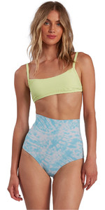 2021 Billabong Womens Hightide Wetsuit Shorts W41G58 - Island Blue Neo